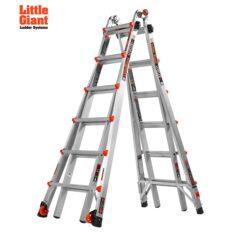 Алюминиевые выдвижные шарнирно-раздвижные лестницы Little Giant LEVELER
